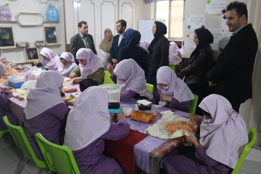 گزارش تصویری |بازدید دکتر دهقان از فعالیت های بهزیستی قزوین در حوزه اشتغال