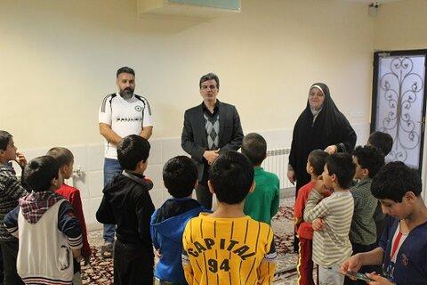 ری | مدیر بهزیستی شهرستان ری از مراکز نگهداری کودکان کار بازدید کرد