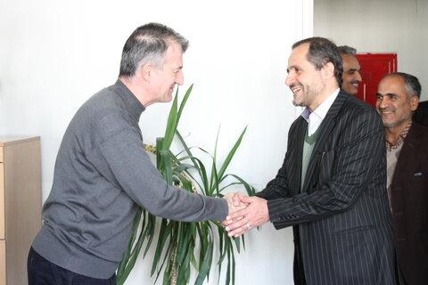 گزارش تصویری| دیدار مدیرکل بهزیستی استان با کارکنان ستاد و شهرستان شمیرانات