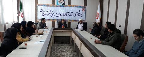 رزن   پویش حلقه وصل محور دومین جلسه شورای مشارکتهای مردمی