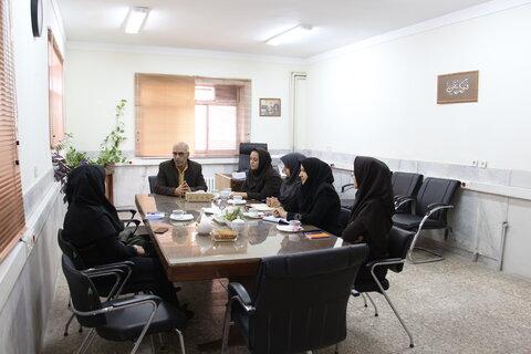 حضور مدیرکل بهزیستی استان سمنان در معاونت اجتماعی