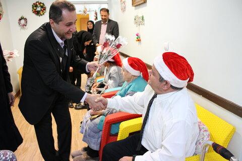 گزارش تصویری | دیدار مدیر کل استان تهران با سالمندان مرکز حضرت مریم