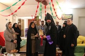 اصفهان  بازدید اسقف اعظم اصفهان و ارامنه جنوب ایران از شیرخوارگاه نرجس