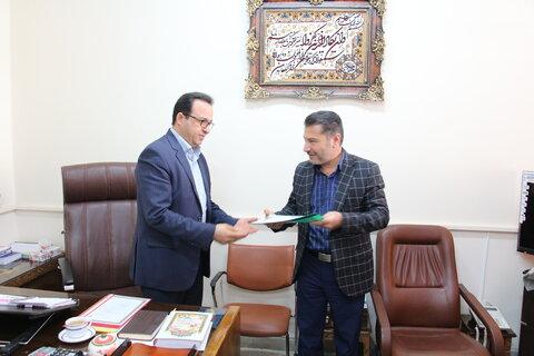 انتصابات در حوزه پشتیبانی و منابع انسانی  اداره کل بهزیستی استان سمنان