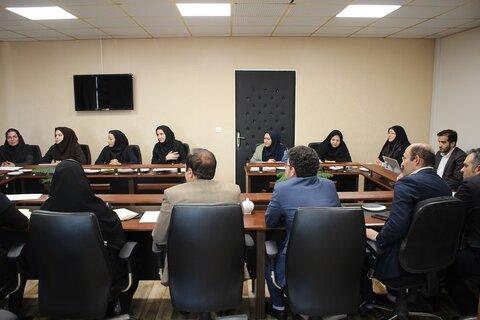 گزارش تصویری| جلسه شورای اداری بهزیستی البرز برگزار شد