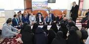 دیدار صمیمانه رییس سازمان بهزیستی کشور با فرزندان مرکز شبه خانواده نرگس در شهرستان طبس