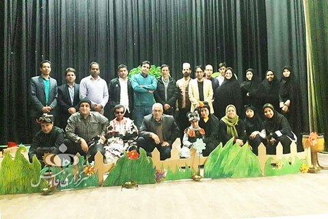 هنرمندان معلول به جشنواره تئاتر فجر راه  پیدا کردند