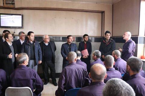 بازدید دکتر براتی سده از کمپ ماده 16 استان آذربایجان غربی