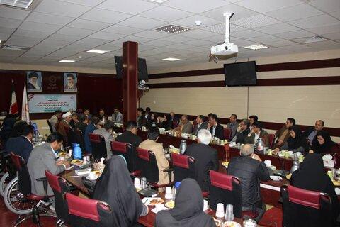 نشست دکتر قبادی با نمایندگان مراکز غیر دولتی بیرجند