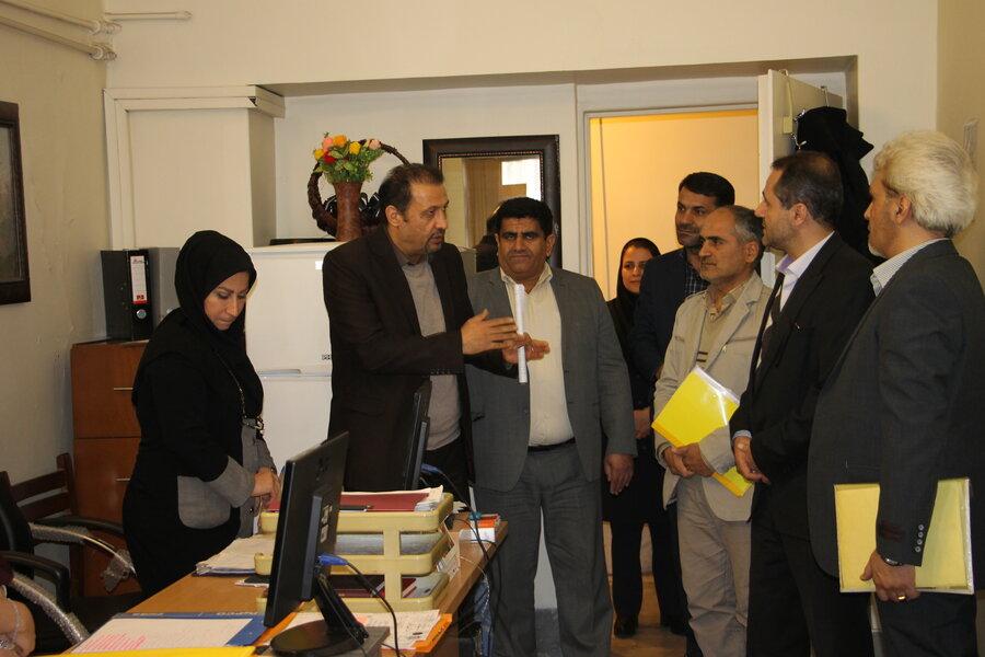 گزارش تصویری | دیدار مدیرکل با همکاران بهزیستی شهرستان تهران