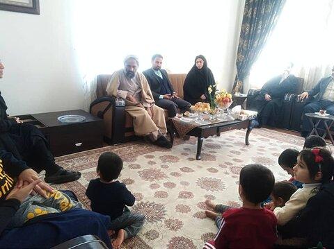 بازدید و دیدار امام جمعه کردکوی با کودکان تحت سرپرست بهزیستی شهرستان
