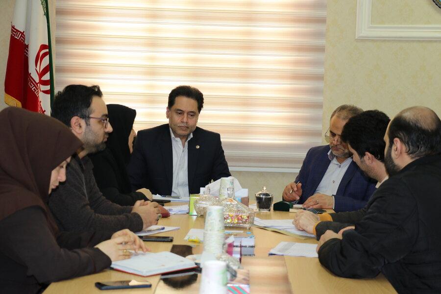نشست مشترک دکتر نحوی نژاد با مسئول سازمان بسیج سازندگی سپاه قدس گیلان