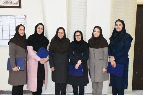تجلیل از پرستاران شاغل در اداره کل بهزیستی استان لرستان