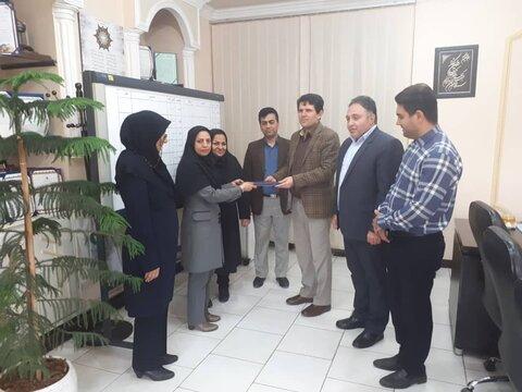 گرامیداشت روز پرستار در اداره کل بهزیستی استان گلستان