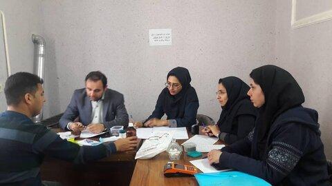 برگزاری اولین کمیسیون از کارافتادگی شرق استان در سال ۹۸در شهرستان گنبد