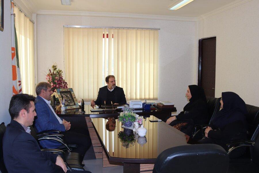 تقدیر مدیرکل بهزیستی آذربایجان غربی از پرستاران شاغل در بهزیستی استان