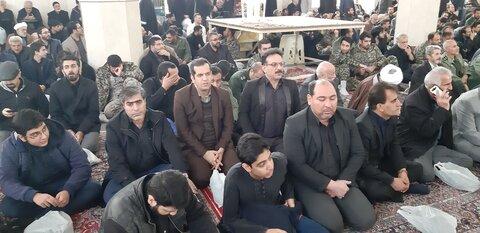 حضور کارمندان بهزیستی البرز در مراسم گرامیداشت یاد وخاطر سپهبدشهید حاج قاسم سلیمانی