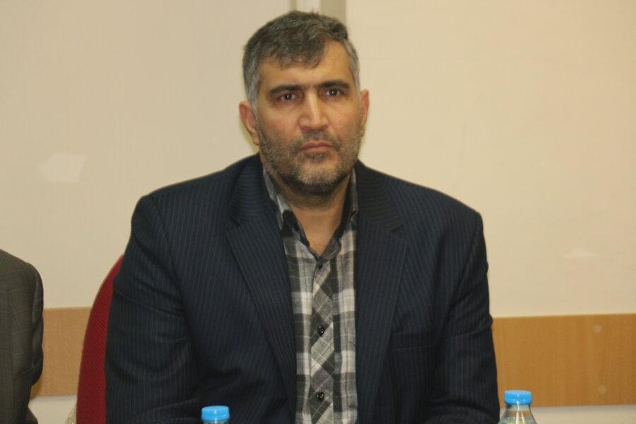 سفر معاون توسعه مدیریت و منابع  سازمان بهزیستی کشور به استان قزوین