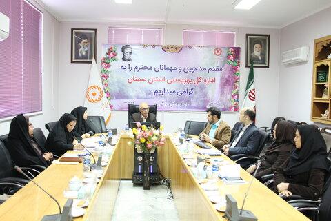 شورای راهبردی بهزیستی سمنان برگزار شد