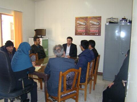 خوانسار   برگزاری جلسه مشورتی مناسب سازی با حضور معلولین