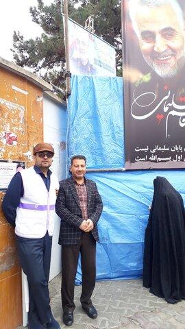 گزارش تصویری ا حضور پرسنل و جامعه هدف اداره کل بهزیستی استان سمنان در حمایت از سردار خوبی ها