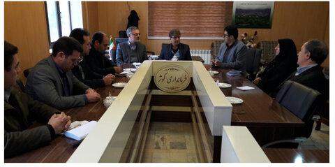 دیدار مدیر کل سازمان بهزیستی استان اردبیل با فرماندار کوثر
