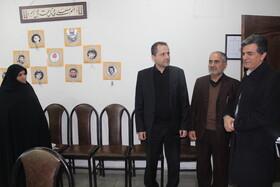 مدیرکل بهزیستی استان تهران از بهزیستی شهرستان ری بازدید کرد