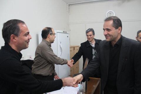 بازدید مدیر کل بهزیستی استان تهران از شهرستان ری