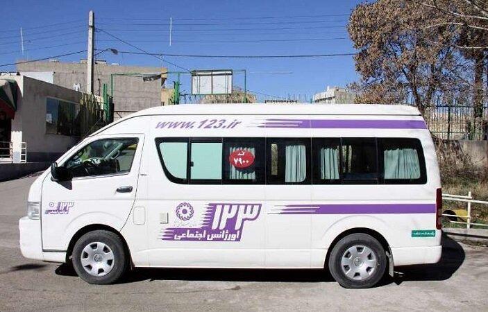 تنگستان /طرح استقرار هفتگی خودروی اورژانس 123 درتنگستان اجرا شد