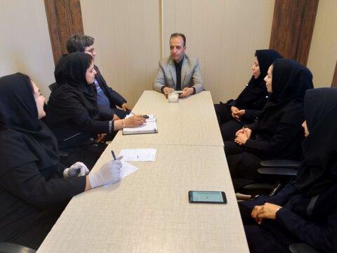 بهار   نشست مشورتی رئیس با پرسنل اورژانس اجتماعی