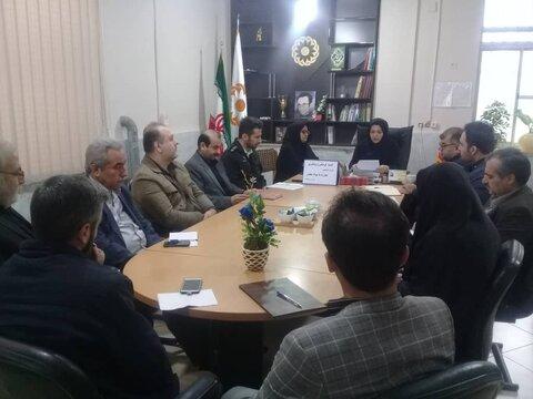 برگزاری کمیته فرهنگی و پیشگیری با محوریت و دبیری اداره بهزیستی شهرستان علی آباد کتول