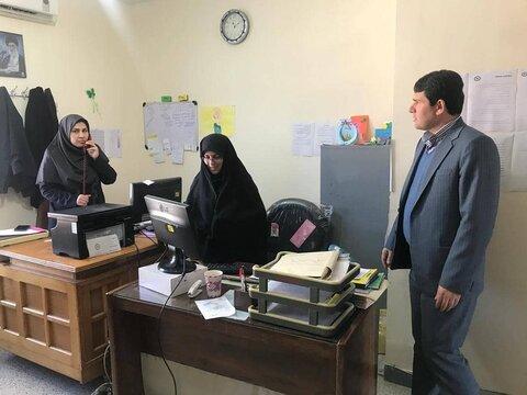 بازدید سرزده مدیرکل بهزیستی گلستان از اداره بهزیستی کردکوی