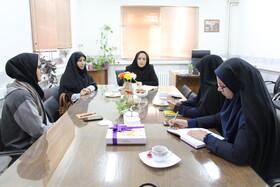 نشست معاون اجتماعی بهزیستی استان سمنان با معاون حمایت و سلامت کمیته امداد امام خمینی(ره)