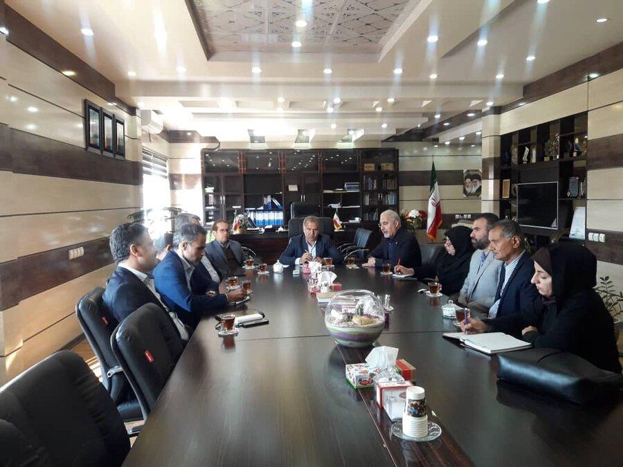 عسلویه   مدیر کل بهزیستی استان بوشهر با فرماندار شهرستان عسلویه دیدار و گفتگو کرد