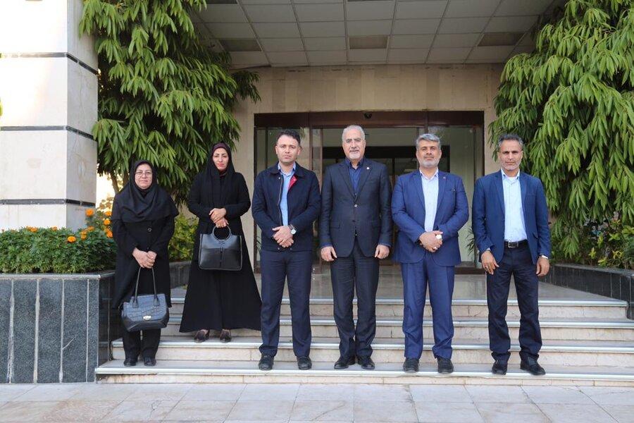 جم  دکتر حاجیونی: پتروشیمی جم شریک اجتماعی مستمر بهزیستی استان بوشهر است