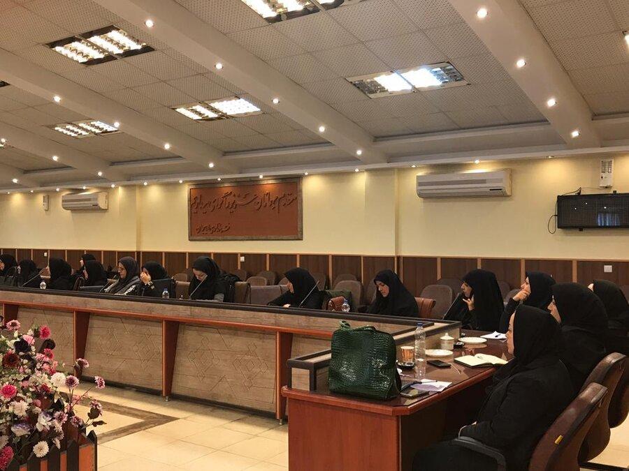 برگزاری کارگروه کمیسیون امور بانوان شهرستان لاهیجان