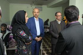 گزارش تصویری ازبازدید مدیر کل دفتر توانبخشی و مراقبتی سازمان بهزیستی کشور ازمرکز بیماران روانی و مزمن خلیج فارس