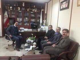دیدار آقای دکتر مرادی با ریاست سازمان بهزیستی کشور