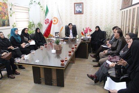 جلسه شورای اداری در بهزیستی شهرستان کرج برگزار شد