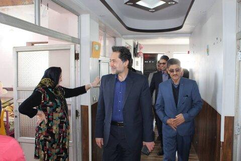 بازدید دکتر حسین نحوی نژاد از مرکز نگهداری معلولان ذهنی لیلاکوه لنگرود