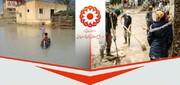 پویش جمع آوری کمک های مردمی برای سیل زدگان استان سیستان توسط بهزیستی خراسان جنوبی راه اندازی شد