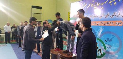 مسابقات کشتی فرنگی ناشنوایان قهرمانی کشور