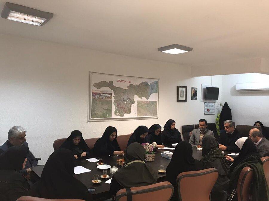 دومین جلسه تخصصی در ارتباط با برگزاری همایش سالمندان شهرستان لاهیجان تشکیل شد