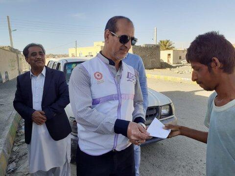 گزارش تصویری| بازدید مسئولان ستاد بحران سازمان بهزیستی کشور از مناطق سیل زده نیکشهر در استان سیستان و بلوچستان