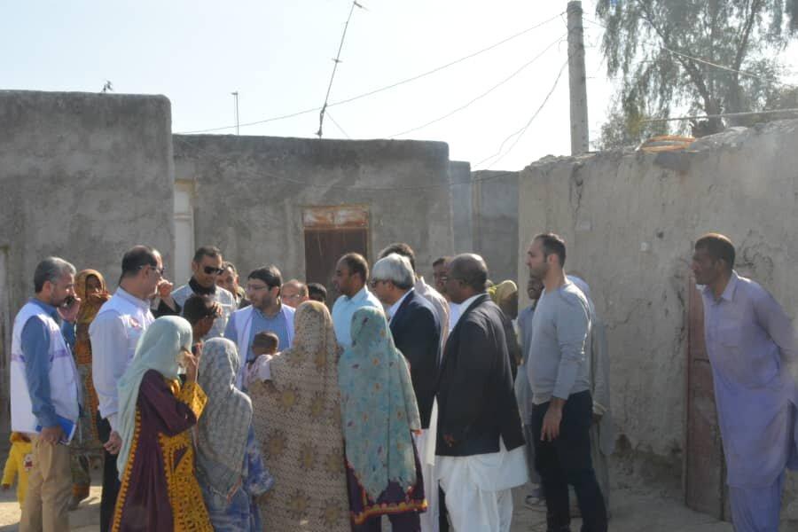 گزارش تصویری| بازدید رییس سازمان بهزیستی کشور از مناطق آسیب دیده از سیل استان سیستان و بلوچستان