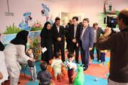 فیلم  بازدید رییس سازمان بهزیستی کشور از شیرخوارگاه امام علی(ع) در استان البرز