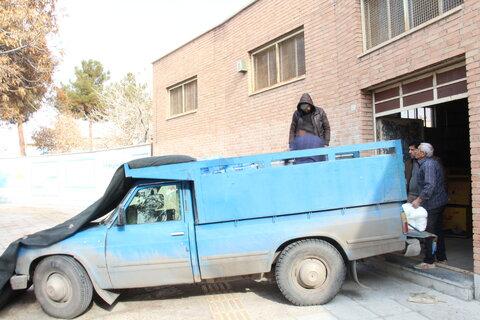 گزارش تصویری ا ارسال کمک های نقدی و غیر نقدی به مناطق سیل زده سیستان و بلوچستان