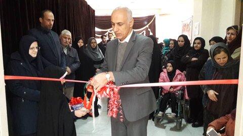 شاهرود ا افتتاح نمایشگاه صنایع دستی مددجویان تحت حمایت اداره بهزیستی شهرستان