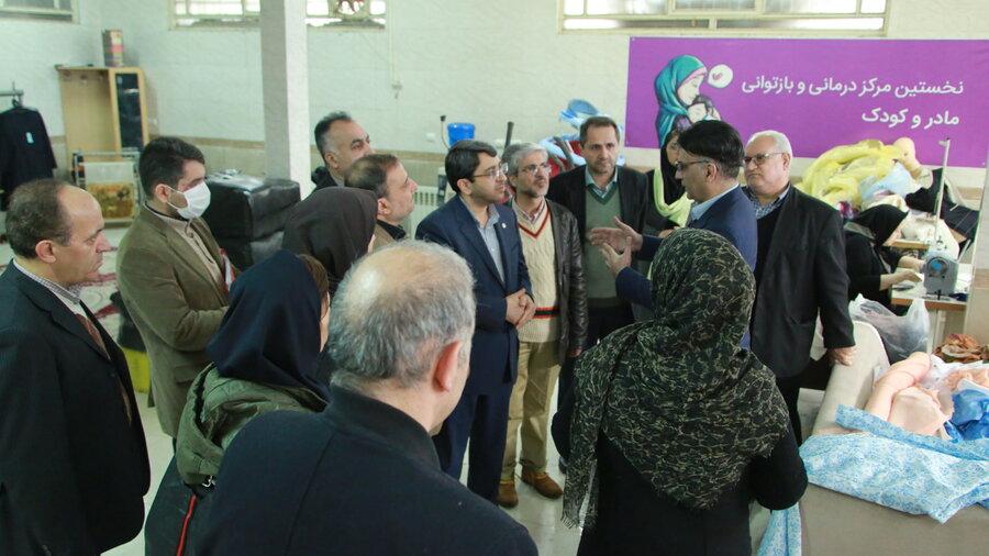 گزارش تصویری| بازدید رئیس سازمان بهزیستی از مرکز مادر و کودک پروین در استان تهران