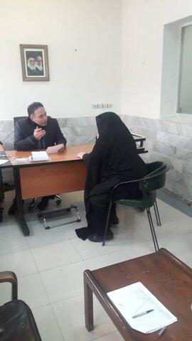 دیدار جانشین مدیرکل بهزیستی گلستان با مددجویان از سراسر استان